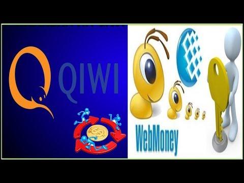 ???? Вебмани на Киви или Обменять Пополнить Продать Купить QIWI с WEBMONEY. Быстро, выгодно, надёжно