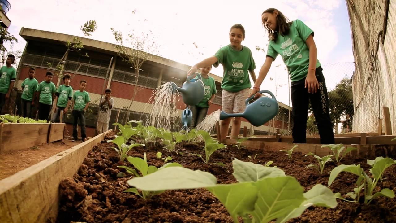 Vídeo de Apresentação do Projeto Horta Escolar