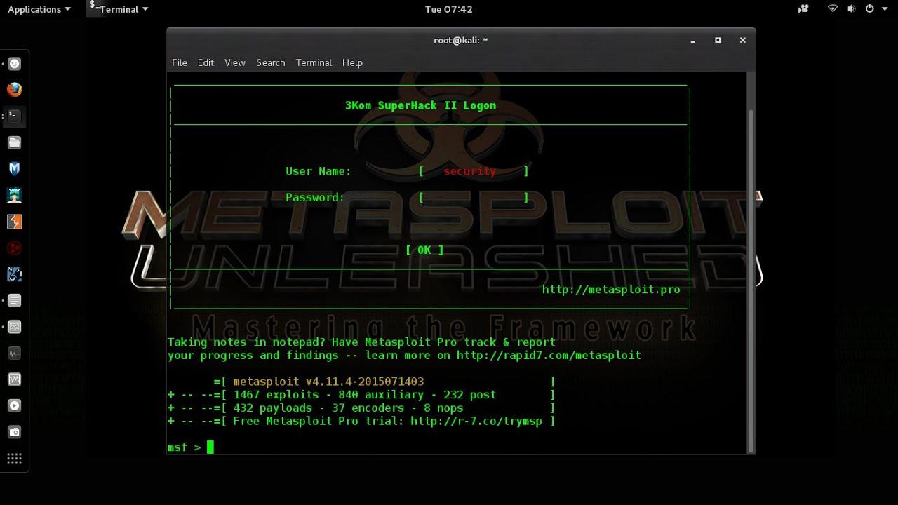 Cara hack website dengan metasploit gui - apalontoo