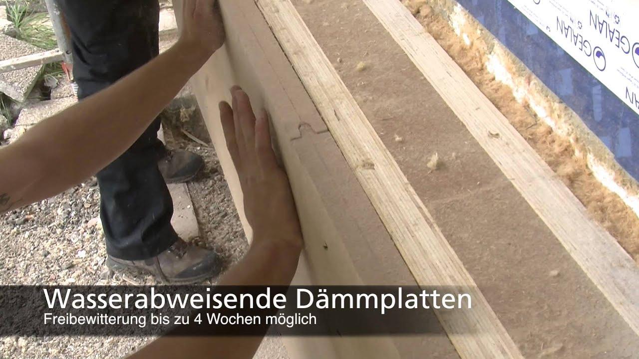 Fassadensanierung Mit Steico Holzfaser-Dämmstoffen - Youtube