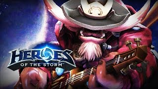 ♥ Heroes of the Storm (Gameplay) - E.T.C. Extra Tanky Cow (HoTs Quick Match)