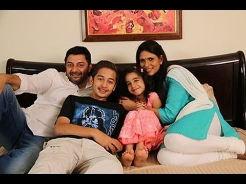 Arvind Swamy With Wife and Kids Family Video   Actor Arvind Swamy Family - Awesome !