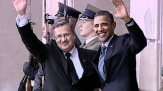Obama arrives in Poland on last leg of Europe tour
