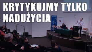 """""""Krytykujmy tylko nadużycia"""" + """"Spoczynki w Duchu Świętym"""" // UMK w Toruniu // Mikołaj Kapusta"""