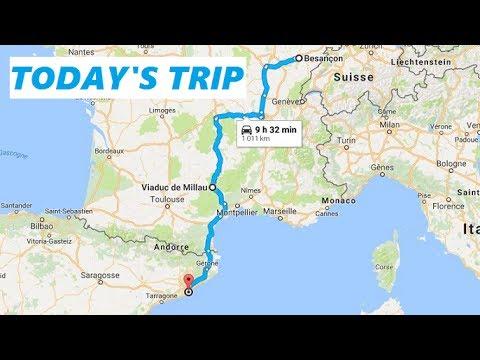 [Roadtrip 2 #73 - France] A89 (La Transeuropéenne): N7 to Autoroute A711