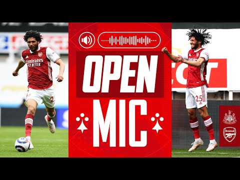 OPEN MIC | Mohamed Elneny | Newcastle United vs Arsenal (0-2) | Premier League
