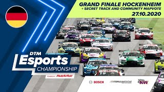 #DTMEsportsChampionship - Grand Finale Hockenheim + Secret Track & Mapvote (Final Round) - Deutsch