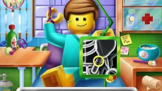 NEW мультик онлайн для девочек—Лего больница—Игры для детей/ cartoon for kids