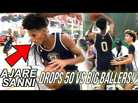 Ajare Sanni Drops 53 POINTS VS LaMelo & Big Ballers! Hits 8 THREES! FULL HIGHLIGHTS