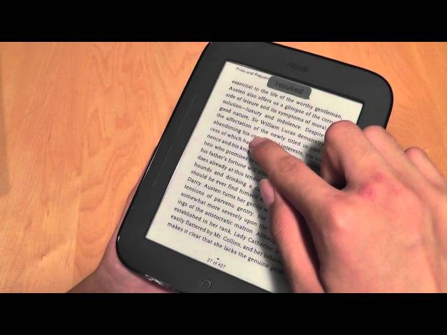 epub books to nook simple touch