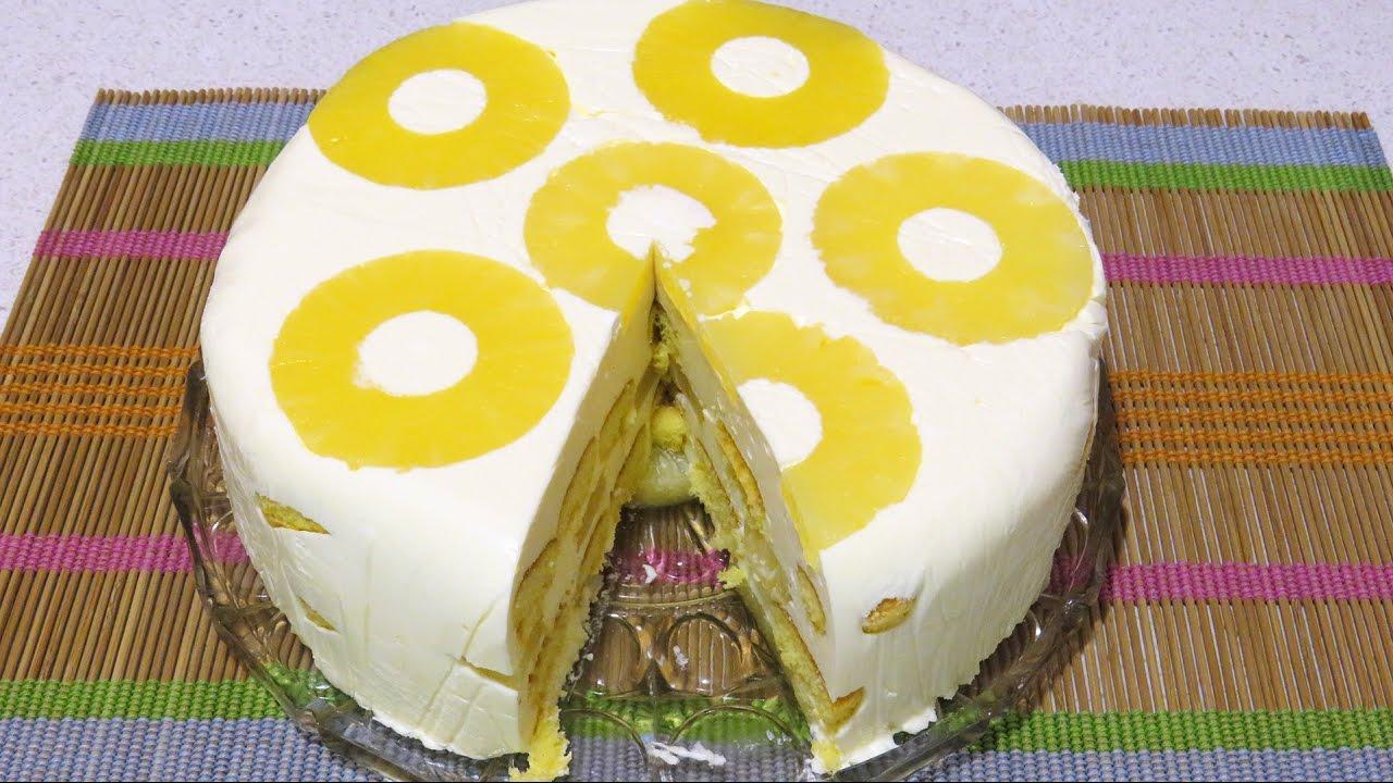 Retete tort cu ananas si mascarpone