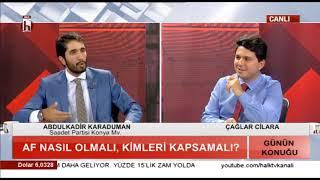GÜNÜN KONUĞU - Halk TV - 28.09.2018