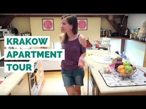 Krakow Apartment Tour in Poland