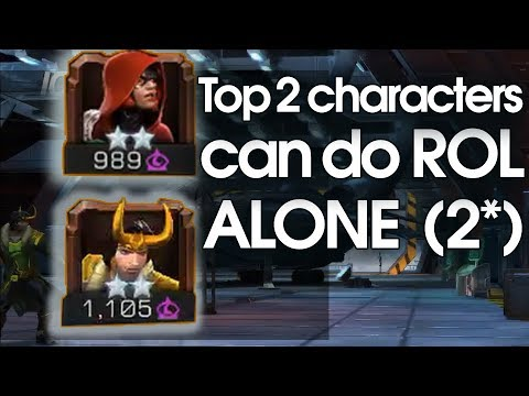Top 2 Stars Champion Can Do ROL Alone | MCOC ROL With 2*