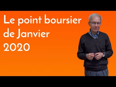 Vision hiboo : Point boursier janvier 2020