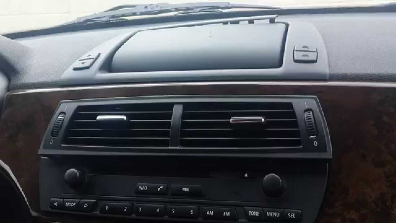 How To Remove Radio Navigation Display From Bmw Z4