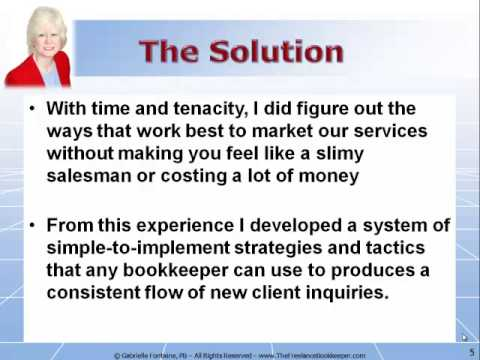 the freelance bookkeeper marketing system - Freelance Bookkeeper