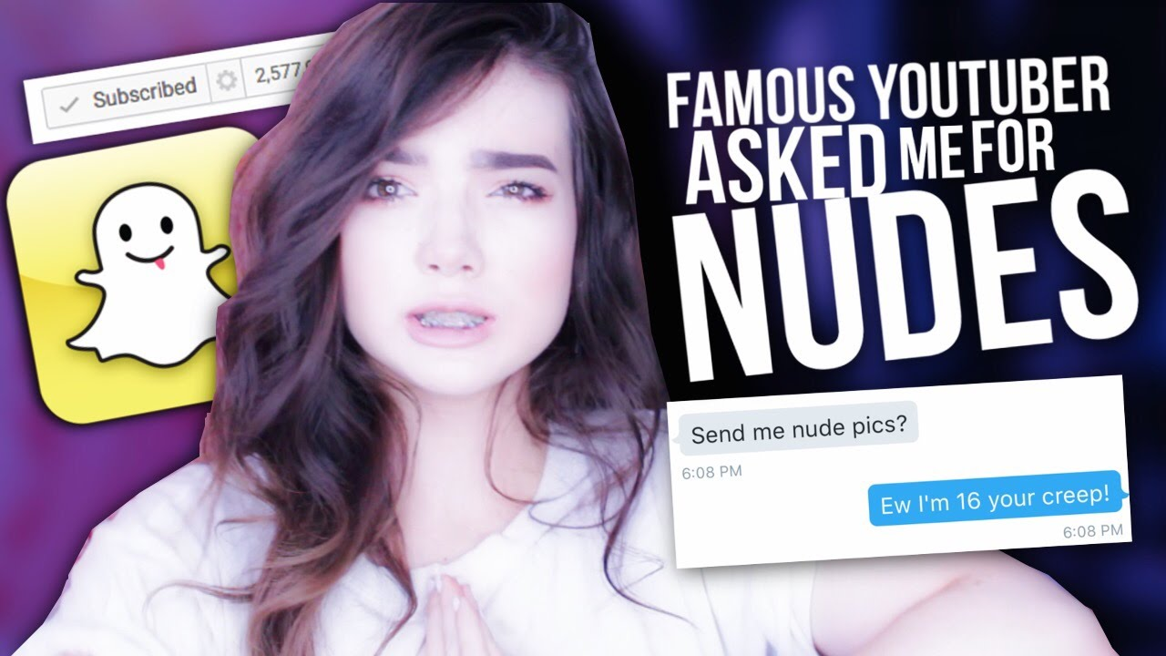 female youtuber nudes