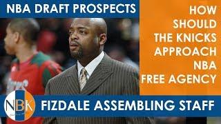 David Fizdale Assembling Coaching Staff;  NBA Draft Prospects;