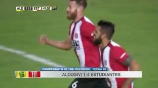ALDOSIVI vs ESTUDIANTES DE LA PLATA 1-4 primera division fecha 19