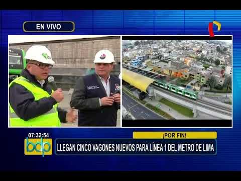 Metro de Lima: presentan nuevo tren que podrá transportar más de mil pasajeros por viaje