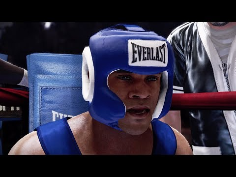 FIGHTING IN A PRISON!! FIGHT NIGHT CHAMPION STORY MODE EPISODE 1