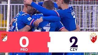 Proleter - Crvena zvezda 0:2 | Pregled utakmice | Superliga Srbija