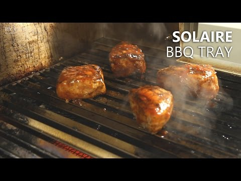 Solaire BBQ Tray Accessory For Indirect Cooking   BBQGuys.com
