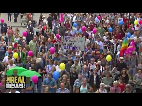 G20 Protestors Call for An Alternative To the Neoliberal Order