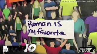 ROMAN REIGNS is BACK! - WWE Top 10