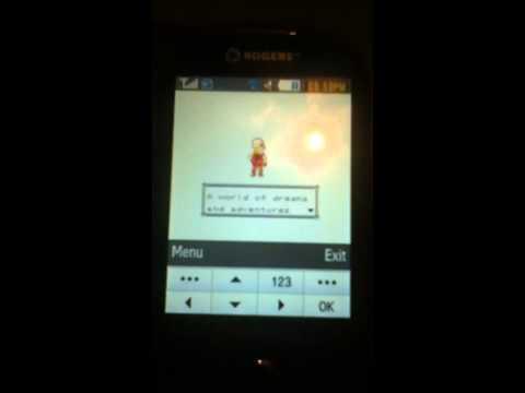 Pokemon Yellow on Samsung Corby Pro