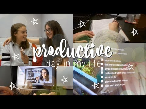 A PRODUCTIVE DAY IN MY LIFE VLOG - Preparing for University, Working and Procrastinating | AD