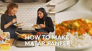 Matar Paneer with Priya Krishna | Real Simple Cooking School | Real Simple