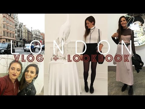 VLOG + LOOKBOOK London! [FRIEZE + CROSSROADS Art Fairs] | Wonderland Drawings