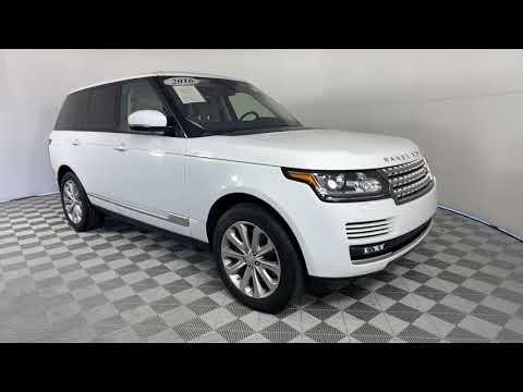 Range Rover Gwinnett >> 2016 Land Rover Range Rover Gwinnett Norcross Duluth