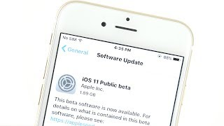 How To Install iOS 11 Public Beta?