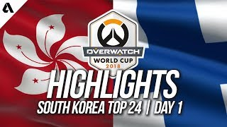 Video Hong Kong Vs Finland | Overwatch World Cup 2018 Incheon Qualifier Day 1 download MP3, 3GP, MP4, WEBM, AVI, FLV Agustus 2018
