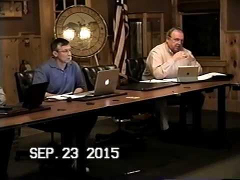 Tewksbury, MA: Finance Committee Public Meeting: September, 23, 2015: Part 2 of 4