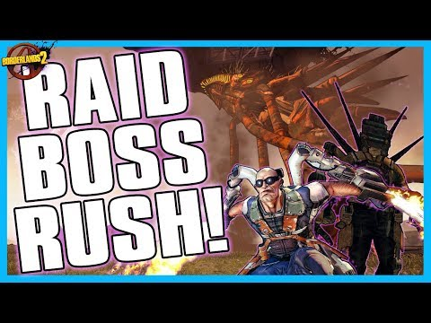 Borderlands 2 | WORLD'S MOST POWERFUL INFINITY PISTOL?!?! RAID BOSS RUSH!!