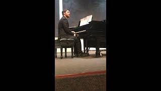 """Doing My Best"" Original Song By Alberto Rincon Recital 2018"