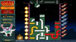 Rocket Mania! Deluxe (PC) Arace Mode: Level Hard Gameplay
