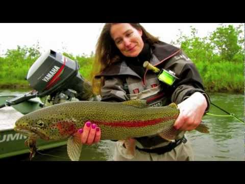 Trout and salmon fly fishing