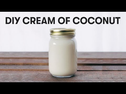 DIY CREAM OF COCONUT (Coco Lopez alternative) + Bloopers!