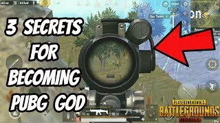3 SECRET PRO TIPS FOR PUBG MOBILE IN HINDI !!