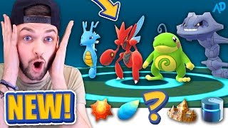 I got the RAREST ITEM in the GAME BUT WHICH ONE? Pokemon GO *NEW* EVOLUTION!