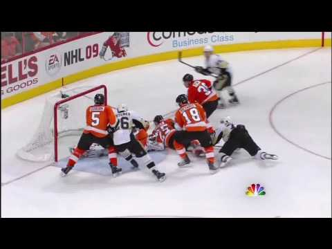 Pens vs Flyers - Game 6 Highlights (High Definition)