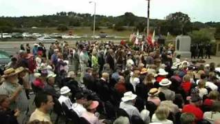 Memorial Day Dedication Marin County Ca.