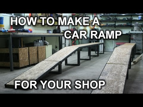 Building My DIY Car Ramp