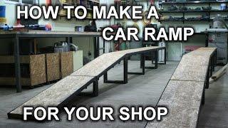 Building My DIY Car Ramp