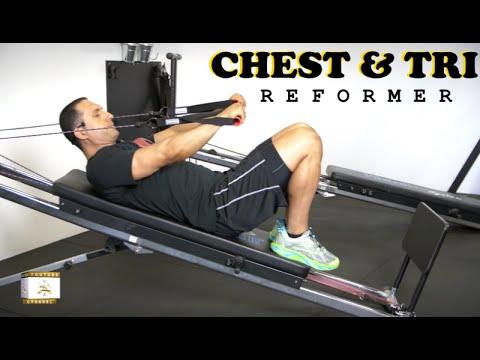 15mins CHEST \u0026 TRICEPS w/ Total Trainer